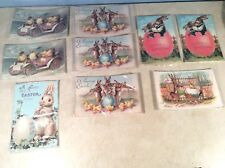 Lot Of 9 Easter Postcards NEW
