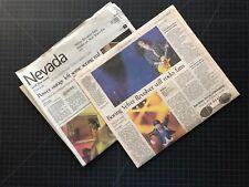 Las Vegas Review Journal VELVET REVOLVER 1-2-05 Scott Weiland Slash GnR STP Rock