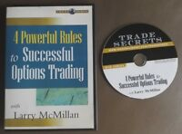 NEW Sealed DVD - Larry Mcmillan - 4 Powerful Rules to Successful Options Trading