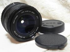 Superb SIGMA 24-50MM f4-5.6 UC Zoom Lens for pentax pk a  lovely lens mc pka