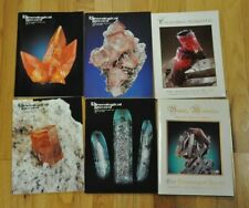 THE MINERALOGICAL RECORD  2002 Vol 33 6 issues the complete year