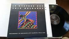 Le Mystere Des Voix Bulgares Cellier 1987 Nonesuch 979165-1 NM original vinyl lp