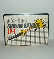 CASSETTE + CRAYON OPTIQUE AMSTRAD LP-1