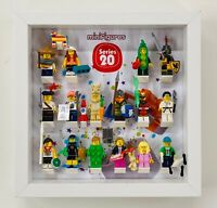 Display Frame Case for Lego Series 20 minifigures CMF 71027 no figures