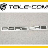 NEU+ORIG. Porsche Macan 95B Schriftzug/Emblem/Logo PORSCHE Verchromt /Heckklappe