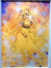 Sailor Moon Poster In Frame C Serenity Yellow Naoko Takeuchi Amusement Premium