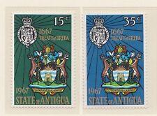 (ZJ-26) 1967 Antigua 2set treaty of BREDA MUH