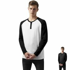 Henley Regular Size Raglan for Men