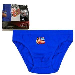Boys Kids Children Cars Lightning Mcqueen Pants Briefs Underwear 3Pack 2-8 Years