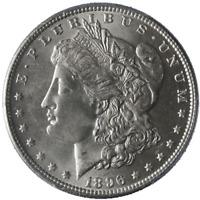 1896-P Morgan Silver Dollar PCGS MS64 Blast White Nice Strike STOCK
