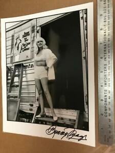 Hand-Signed Bunny Yeager Self Portrait  Photograph