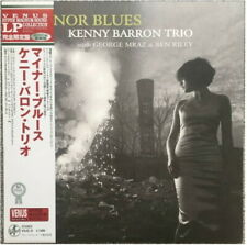 KENNY BARRON TRIO MINOR BLUES VENUS VHJD-31 Japan OBI 200g Vinyl LP
