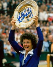 BILLIE JEAN KING.. Wimbledon Champ (Tennis) SIGNED
