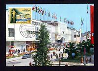 San Marino 587 Maximumkarte 10. Teilnahme an der Mailänder Messe