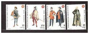 S31421) Smom 1992 MNH Uniforms VI 4v