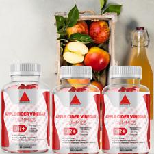 Apple Cider Vinegar Gummies for Detox Cleanse Weight Loss & Immune - Pack of 3