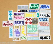 45+ jdm rc die cast sticker decal drift racing rally euro truggy traxxas car v1