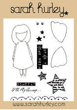 Sarah Hurley Doodle Dolls - Wish Upon A Star Stamp Set