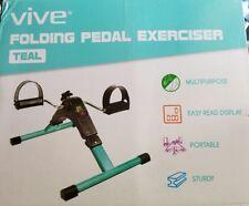 Portable Pedal Exerciser by Vive Arm & Leg Exercise Peddler Machine Low Impact