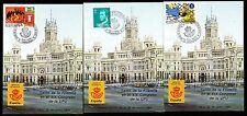 Spanien 3 verschiedene Messekarten Philatelistischer Kongreß Hamburg 1984
