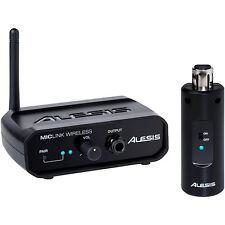 Alesis miclink Micrófono Inalámbrico Radio Adaptador de enchufe de mano * Open Box *