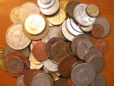 Collection of 100 world coins from 100 countries.
