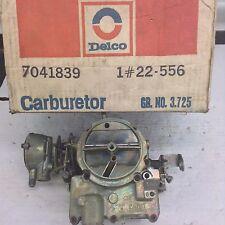 NOS ROCHESTER 2GC CARBURETOR 7037051 1967 OLDSMOBILE 330-425 ENGINE