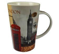 LONDRA DESIGN BIG BEN CABINA TELEFONICA Gigante tazza di Latte
