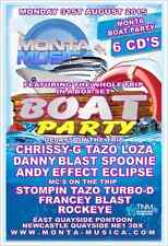 Monta Musica The Boat Partry - Monday 31st August 2015