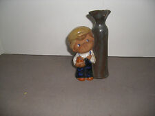Hankyu Inc Japan Pottery Figurine Vase HOW RARE !