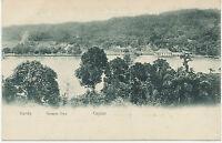 "CEYLON, ca. 1910, very fine mint b/w pc ""General View KANDY"", rare card - Plâtè"