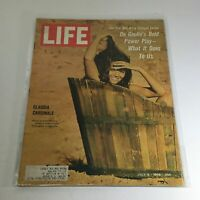 VTG Life Magazine: July 8 1966 - Claudia Cardinale/De Gaulle's Bold Power Play