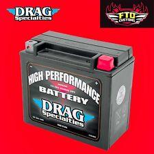 Drag Specialties 12V High Performance Battery For Harley-Davidson 2113-0013