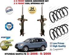 Para Hyundai Santa Fe 2006-2009 2x Delantero Amortiguador + 2X conjunto de muelle en Espiral