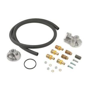 Mr Gasket Engine Oil Filter Remote Mounting Kit 7682;