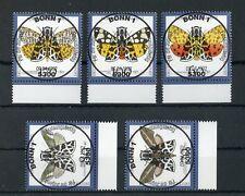 BUND Nr.1602-1606 Unterrand ESST BONN 9.4.1992 - SCHMETTERLINGE ! (129314)