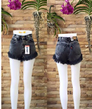 BLACK BANGKOK HIGH WAIST SHORT XL