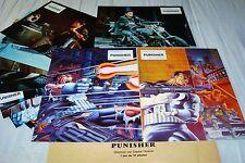 PUNISHER ! d lundgren  jeu photos cinema lobby cards comics marvel bd