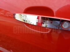 GM LICENSED,2010-13 CAMARO DOOR HANDLE COVERS MIRROR STAINLESS STEEL EX
