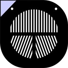 "Máscara de enfoque Bahtinov para Meade 10"" SCT LX10/LX50/LX200/10LS"