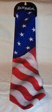 USA Patriotic Stars and Stripes Necktie