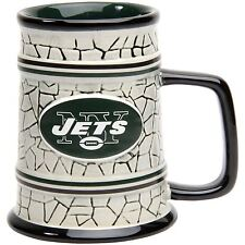 New York Jets Mug NFL Coffee Cup 15oz. Stone Stein Mug