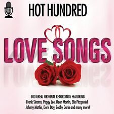 4 CD BOX HOT HUNDRED LOVE SONGS SINATRA LEE MARTIN FITZGERALD DARIN MATHIS ETC