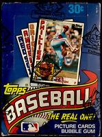 1984 TOPPS MLB Baseball Unopened Sealed HOBBY Trading Card BOX 36 Wax PACKS BBCE