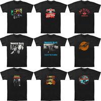 Men's Beastie Boys Short Sleeve T-Shirt Black Graphic Tee Shirt