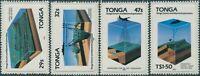 Tonga 1985 SG900-903 Marine Exploration set MNH