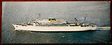 Moore-McCormack Lines. Inc. Passenger Liner Post Card