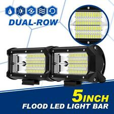 "5"" Inch 288W Cree Led Work Light Bar FLOOD Beam Offroad 4WD Truck SUV ATV 6""7"""