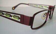 FYSH UK 3411 Green/Purple Eyeglasses Glasses Frame 50-16 Ladies Small-Medium