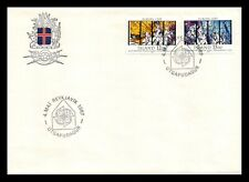 Iceland 1987 FDC, Europa CEPT XXVIII. Modern Art Within Architecture. Lot # 1.